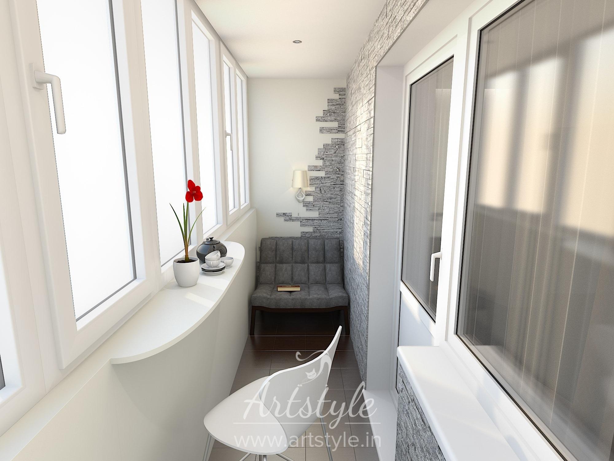 Архивы балкон и лоджии - дизайн-проекты - студия дизайна инт.