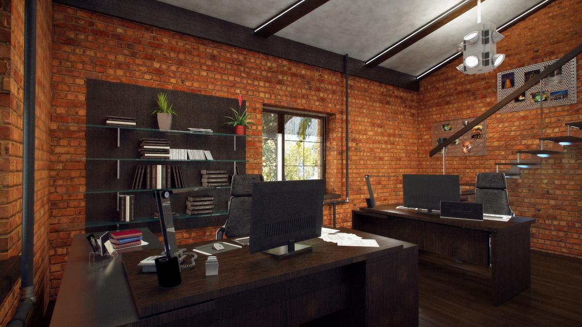 Современный офис — стильный и практичный дизайн